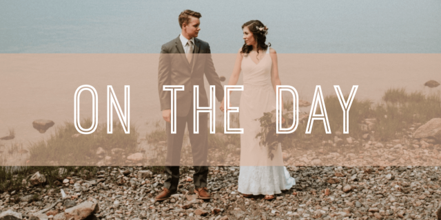 on the day winter weddings banner