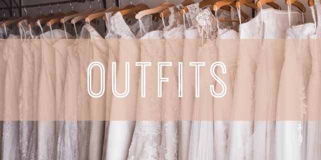 wedding outfits banner